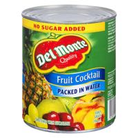 Del Monte Cocktail N S A Canned Fruit