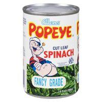 Popeye Spinach Leaf Can Veg