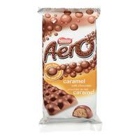 Nestle Aero Caramel Choc Bar