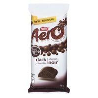 Nestle Aero 70Perc Dark Choc Bar