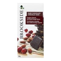 Brookside Cranb Almond Dark Choc Bar