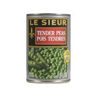 Lesieur Fancy 1 2 Grn Pea Can Veg