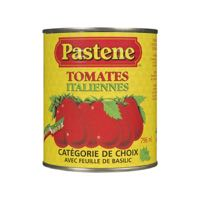 Pastene Tomato Peeled Italian