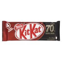 Nestle Kitkat 70Perc Dark Fam Choc