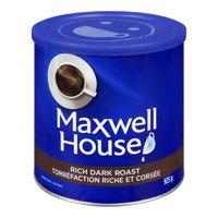 Maxhouse Rich Dark Roast Gro Coffee Tin
