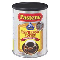 Pastene Ground Coffeefee Expresso Roas