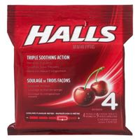 Halls Cherry Cough Drop