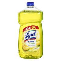 Lysol Lemon M Purp Clean
