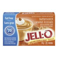 Jello Pudding F F Butterscotch
