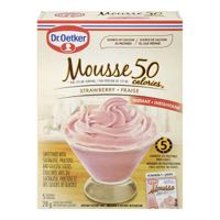 Oetker Strawberry Light Mousse