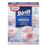 Oetker Strawberry Mousse