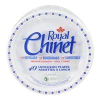 Royal Chinet Plate 8 75