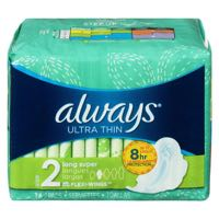 Always Sanit Napkin Ultra Trim Long