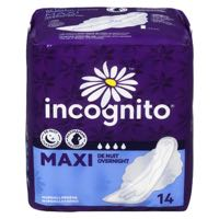 Incogn Maxi Night Tabs Sanit Napkin