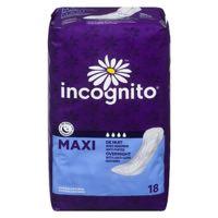 Incogn Sanit Napkin Max Overn Shape