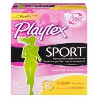 Playtex Sport Unscent Regular Pad