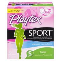 Playtex Sport Unscent Super Pad