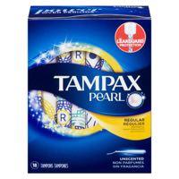 Tampax Pearl Reg Unsc Sanit Tampon