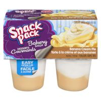 Snack Pack Banana Cream Pudd Cup