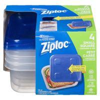 Ziploc Small Square Cont