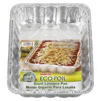 Hanfo Ecof Giant Lasagna Alum Pan