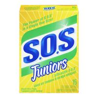 S O S Junior Steel Scouring Pad