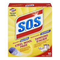 S O S Steel Soap Scouring Pad