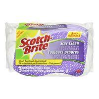 Scotchb Stay Clean Scrub Sponge