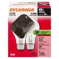 Sylvania Cl 28W A19 Hal Lg Bulb