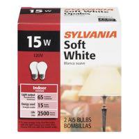 Sylvania Soft White Light Bulb 15W