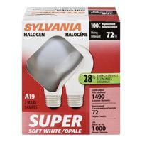 Sylvania Wh 72W Sup Hal Lg Bulb