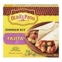 Old El Paso Ch S T Fajitas Mexicain Kit