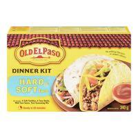 Old El Paso Hard Soft Taco Mexicain Kit