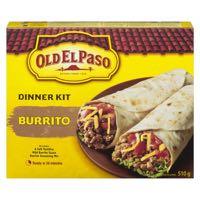 Old El Paso Mexican Kit Burrito