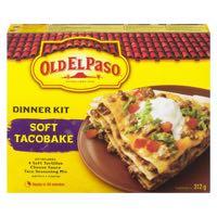Old El Paso Soft Taco Bake Mex Kit