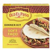 Old El Paso Soft Taco Mexicain Kit