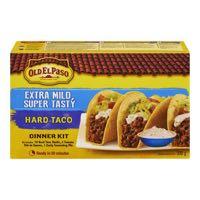 Old El Paso X Mild Taco Mexic Kit