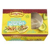 Old El Paso Soft Bowl Mini Tortilla 12