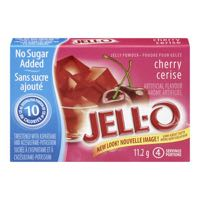 Jello Jelly Powder Cherry Light