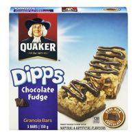 Quaker Dipps Choc Fudge Ch Bar