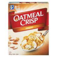 Oat Crisp Oatmeal Almond Cer