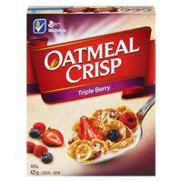 Oat Crisp Triple Berry Cer