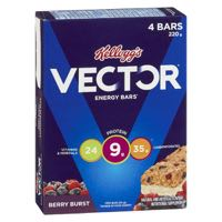 Vector Berry Burst Bar Energy