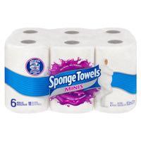 Spngtowel 108Sh Dbl Mini Paper Towel