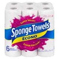 Spngtowel Econo 40Sh Sup Va Paper Towel