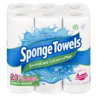Spngtowel Envca 96Sh 2Pl Paper Towel