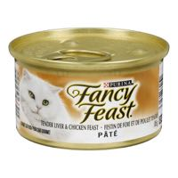Fancy Feast Chicken And Liver Cat Food