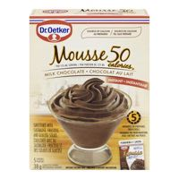 Oetker Milk Choc Light Mousse