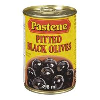 Pastene Pitted Black Olive