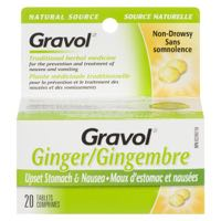 Gravol Ginger Nat Source